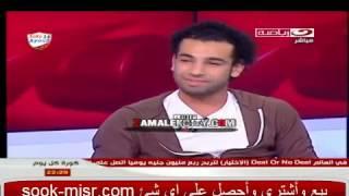 كريم شحاته لمحمد صلاح انا عارف ومتأكد  انك زملكاوى ورد عجيب جدا من صلاح