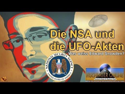 Die NSA und die UFO-Akten - Was weiss Edward Snowden wirklich?