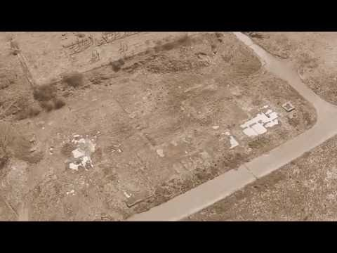 Arial view of the old shell oil site amlwch Dji phantom2 vision+