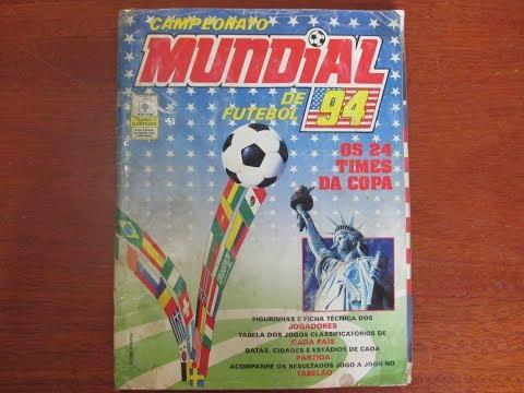 Álbum Copa do Mundo Estados Unidos 1994 Panini Completo (1994 FIFA World Cup USA) #(013)