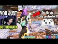 I joined random ZONE WARS with GHOUL TROOPER... (HILARIOUS REACTIONS)