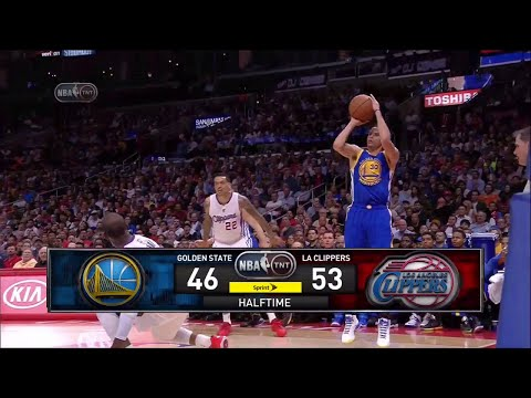Inside The NBA (on TNT) Halftime Report – Warriors vs. Clippers/Curry crosses Paul – March 31, 2015