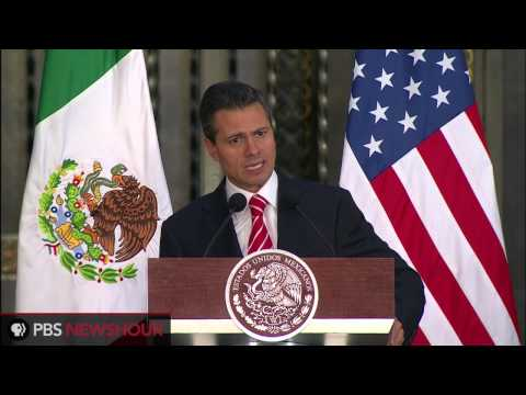 Watch President Obama and Mexican President Pena Nieto's Presser from Mexico City