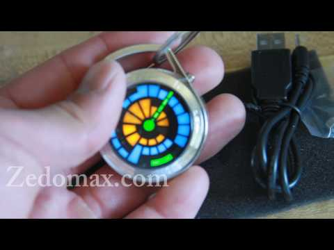 TokyoFlash Round Trip LED Pocket Watch Review!
