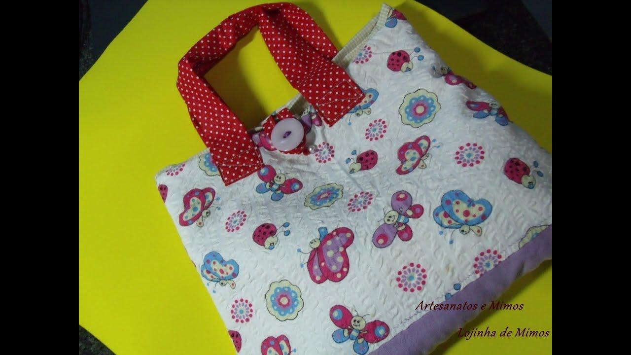 Bolsa De Tecido Para Notebook : Como fazer bolsa lancheira