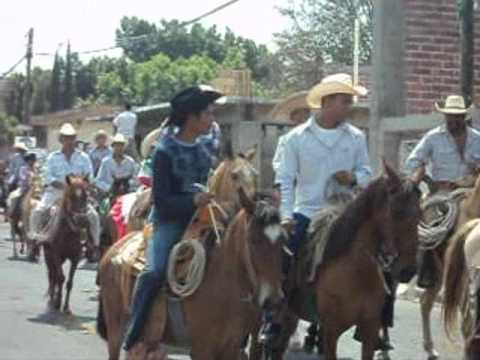 Cabalgata Zapatista 2012 Huitchila - Chinameca, Morelos.