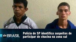 Polícia de SP identifica suspeitos de participar de chacina na zona sul | SBT Brasil (20/03/19)
