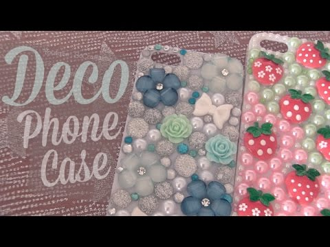 Diy deco phone case custom bling tutorial youtube for Diy custom phone case