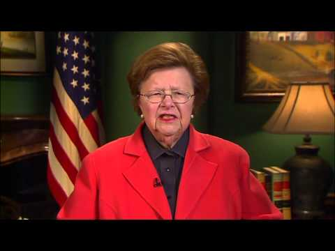 Unity 2015: Senator Barbara Mikulski Acceptance Speech for 2014 Elected Official of the Year