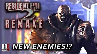 RESIDENT EVIL 2: REMAKE | NEW ENEMIES!?