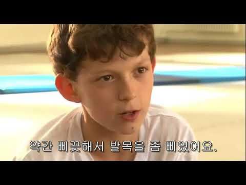 톰 홀랜드-빌리엘리어트 뮤지컬 시절 잔망넘치는 인터뷰(한글자막)