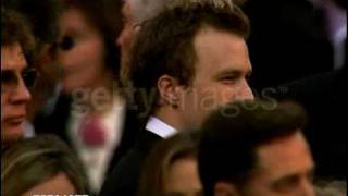 Heath Ledger and Michelle Williams - Oscar 2006
