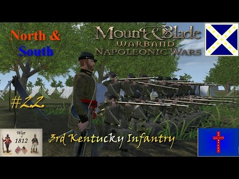 The 3rd Kentucky Infantry: Line Battle #17 ~ The Last Round Glory Hole! video