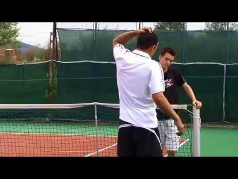 IVAN POUS training with Dominik Hrbaty
