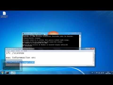 como reparar archivos dañados de nuestro windows 7 (sin programas)