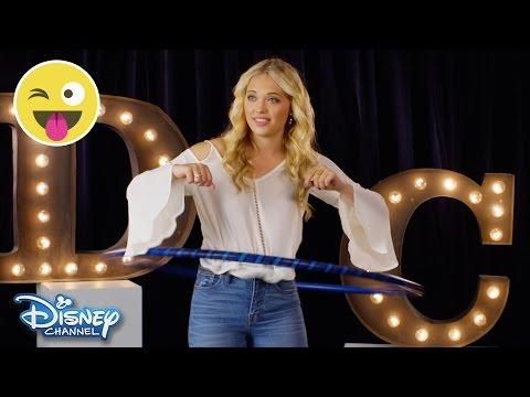 Hula Hoop Challenge   Lauren Taylor   Official Disney Channel UK