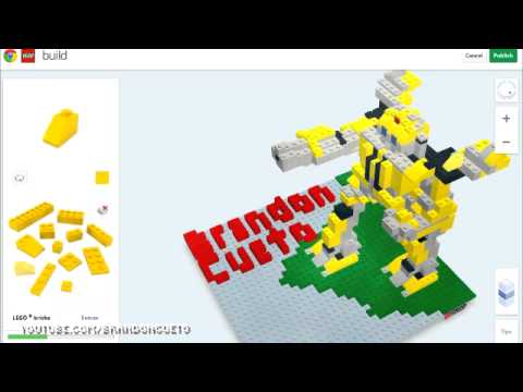LEGO® Bumblebee created in Build with Chrome