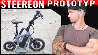 Escooter mit Allradlenkung! Steereon 2019, NO EBIKE! Eroller Made in Germany, Test, Review (DEU-GER)