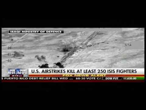 Fox Doesn't Want To Talk Much About A Major U.S. Airstrike Against ISIS