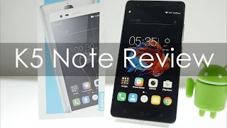 Lenovo K5 Note Review is it a practical smartphone?