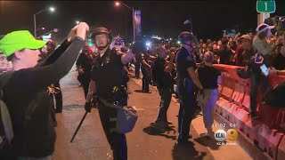 Police Declare Laguna Beach Protests Unlawful, Crowds Disperse