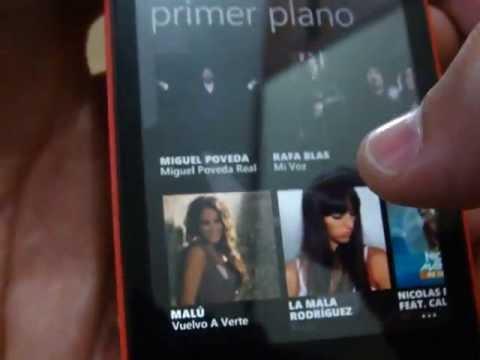 Musica en el Nokia Lumia 520