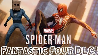 FANTASTIC FOUR DLC CONFIRMED FOR SPIDER-MAN PS4!!!