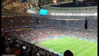 England tried to sneak goal while Croatia was still celebrating Mandzukic goal