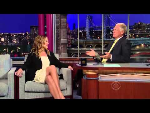 JULIA ROBERTS   INTERVIEW   on Letterman 11'
