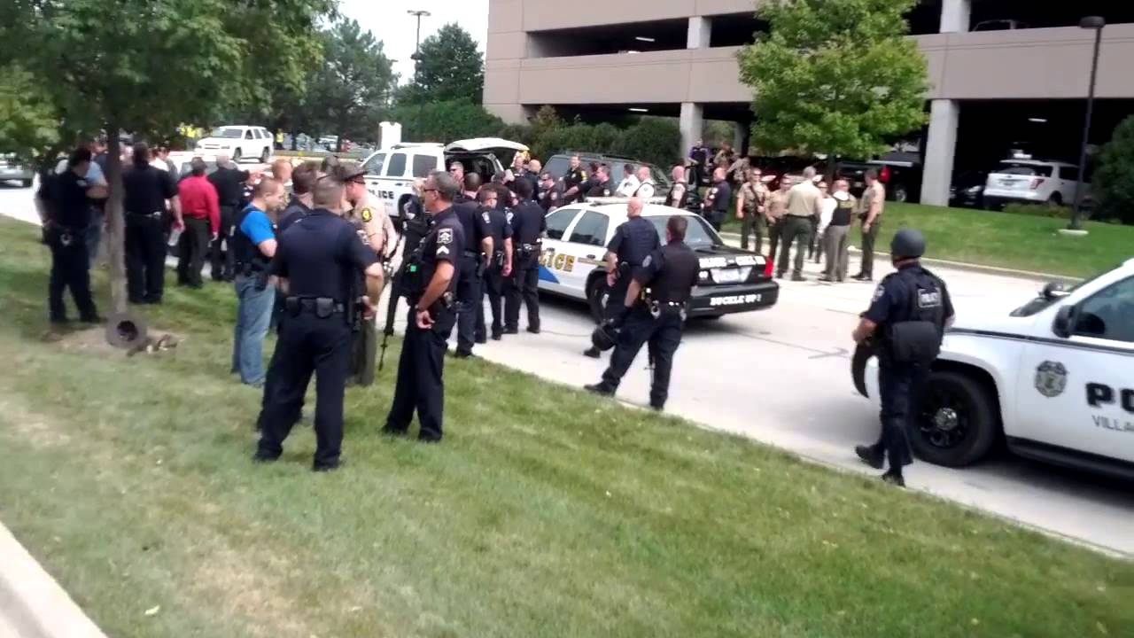 Massive police response to shooting comed building for 1 lincoln center oakbrook terrace il
