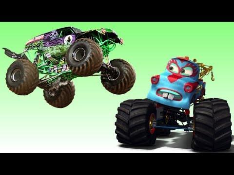 Disney Pixar Cars Monster Truck Madness Vs Monster Jam Entire Episode Full English ( 2014 )