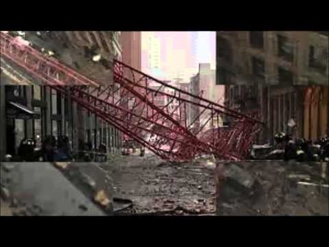 Major crane collapse reported in New York, 1 dead, at least 12