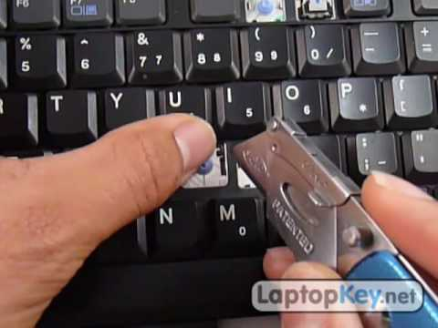 Replace Keyboard Key on IBM T40 T41 T42 T43 R50 R52 R53 | Fix Your Laptop Installation Repair Guide
