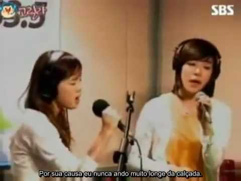 (SNSD) Taeyeon & Tiffany - Because of You [Legendado PT-BR]