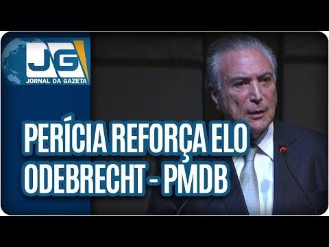 Perícia reforça elo Odebrecht-PMDB