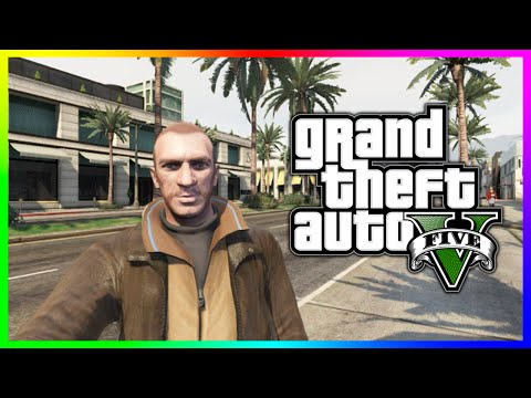 GTA 5 Easter Egg - Niko Bellic's FIB Girlfriend in GTA 5! Michelle From GTA IV in GTA V!