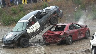 2014 Musgrave Harbour Demolition Derby - Small Car Heat