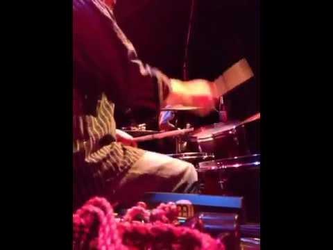 Elliot Polsky live on drumset