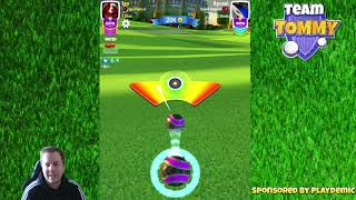 Golf Clash tips, Playthrough, Hole 1-9 - PRO - TOURNAMENT WIND! City of Lights Tournament!