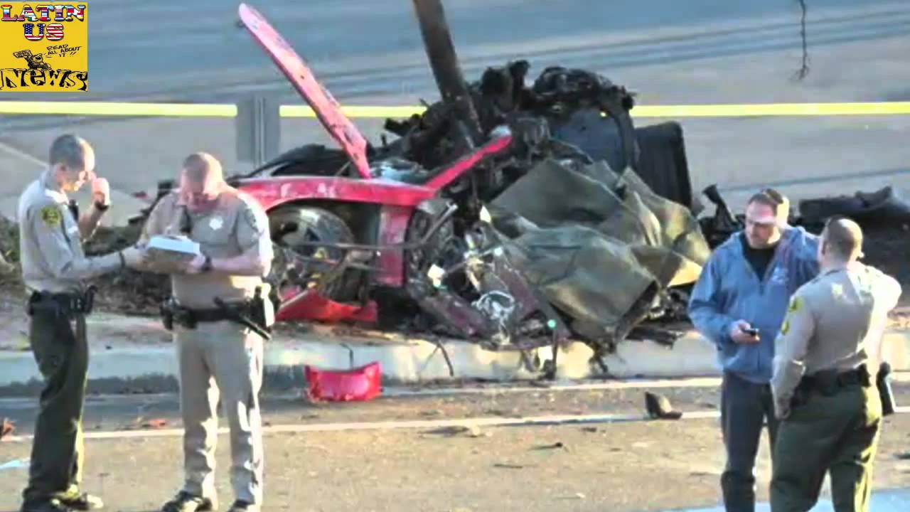 Car Crashes Video Paul Walker Dies Car Crash