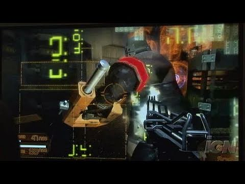 Coded Arms Assault PlayStation 3 Gameplay - TGS Gameplay 1