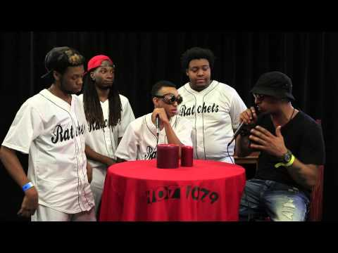The Ratchets Hot107.9 Birthday Bash 19 Backstage Interview