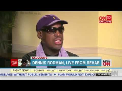 Rodman Interview:  I don't have to drink, I'm not Drunk, Just Come to North Korea with Me