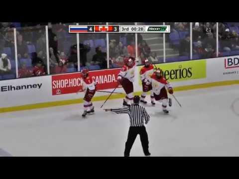 Nov 07, 2017 WHC-17: Russia 5-3 Canada Red