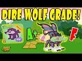 Grade The New Dire Wolf on Animal Jam! A+ or F?! MP3