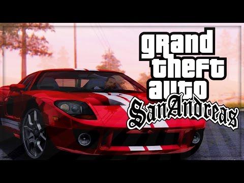 GTA: San Andreas HD Official Gameplay GTA Remastered Grand Theft Auto San Andreas