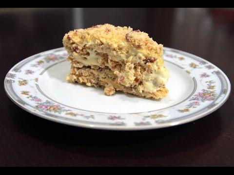 Киевский торт. Очень очень нежный и вкусный тортик!