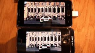 iPhone 4 vs Galaxy S2 video play comparison