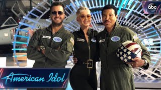 Katy Perry, Luke Bryan, Lionel Richie Reunite At Denver Auditions - American Idol on ABC
