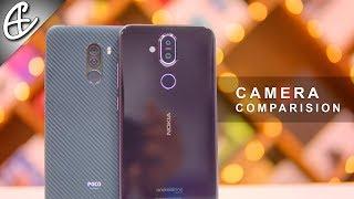 Nokia 8.1 vs Poco F1 Camera Comparison - Surprising Results!